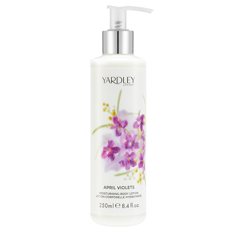 April Violets Moisturising Body Lotion