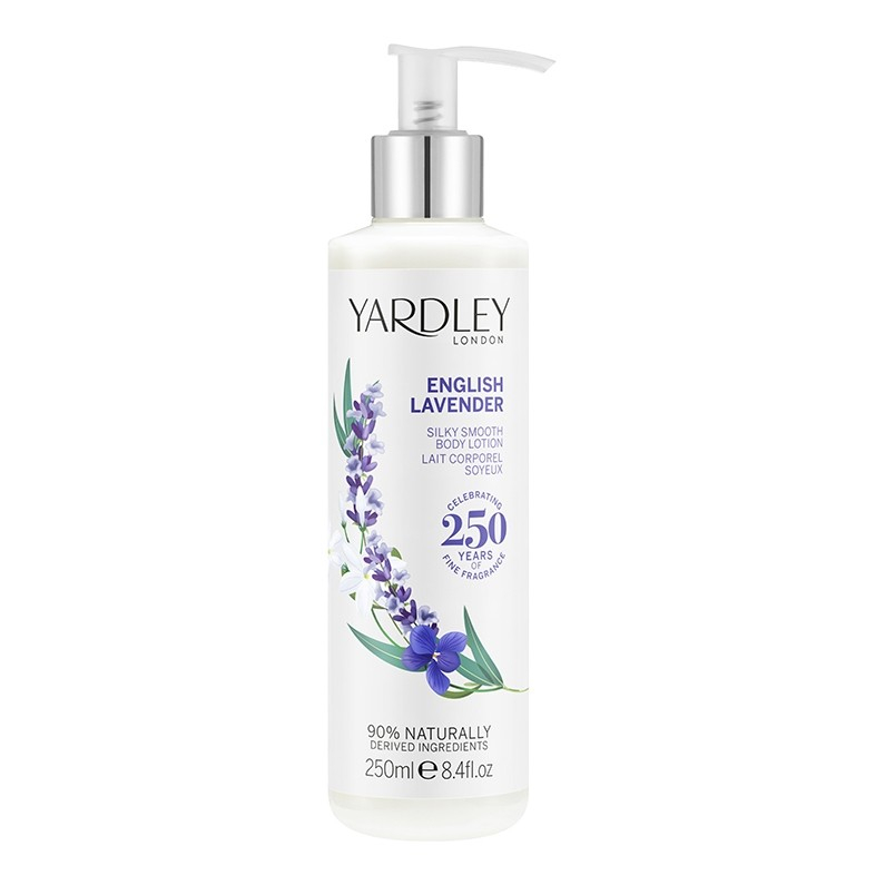 English Lavender Silky Smooth Body Lotion