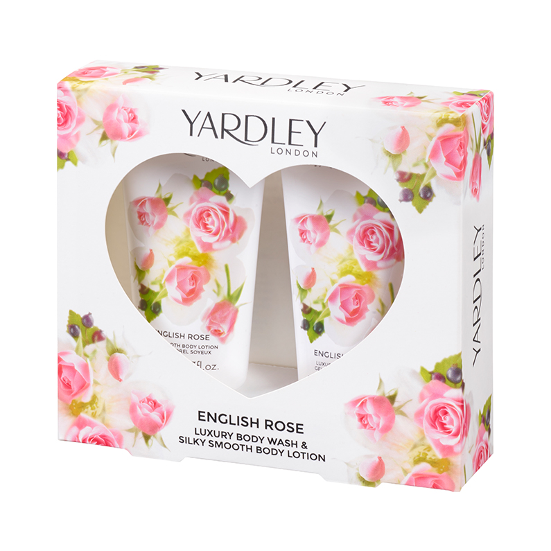 English Rose Bath & Body Collection Gift Travel Set