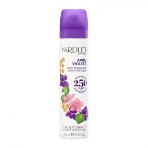 April Violets Deodorising Body Spray