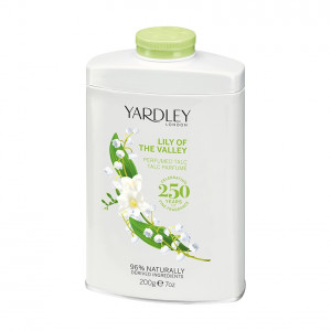 Lily of the Valley Perfumed Talc