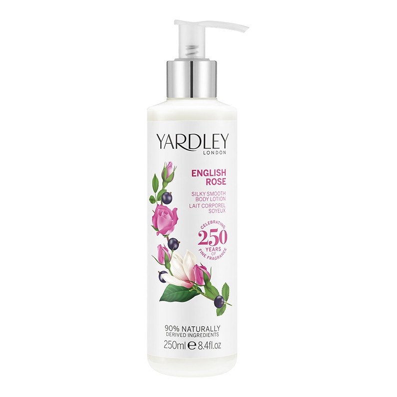 English Rose Silky Smooth Body Lotion