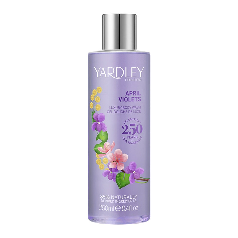 April Violets Luxury Body Wash