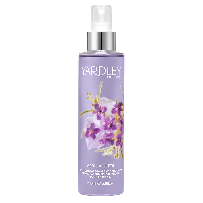 April Violets Moisturising Fragrance Body Mist