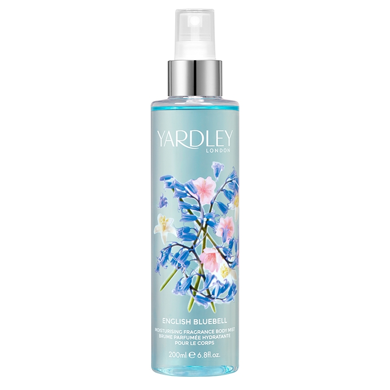 English Bluebell Moisturising Fragrance Body Mist