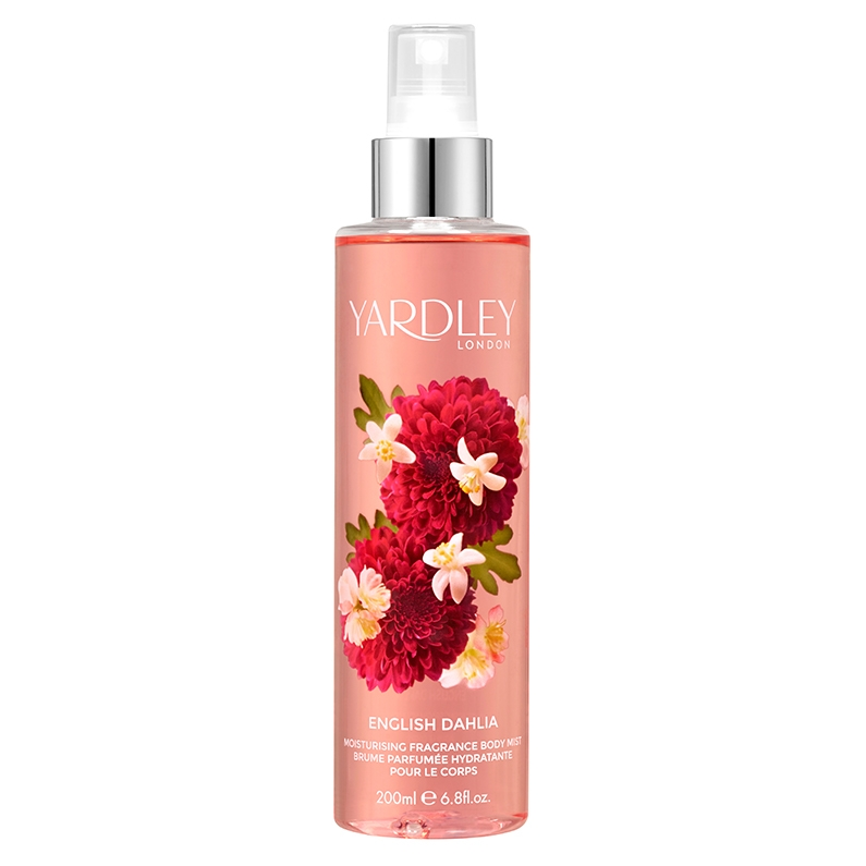 English Dahlia Moisturising Fragrance Body Mist