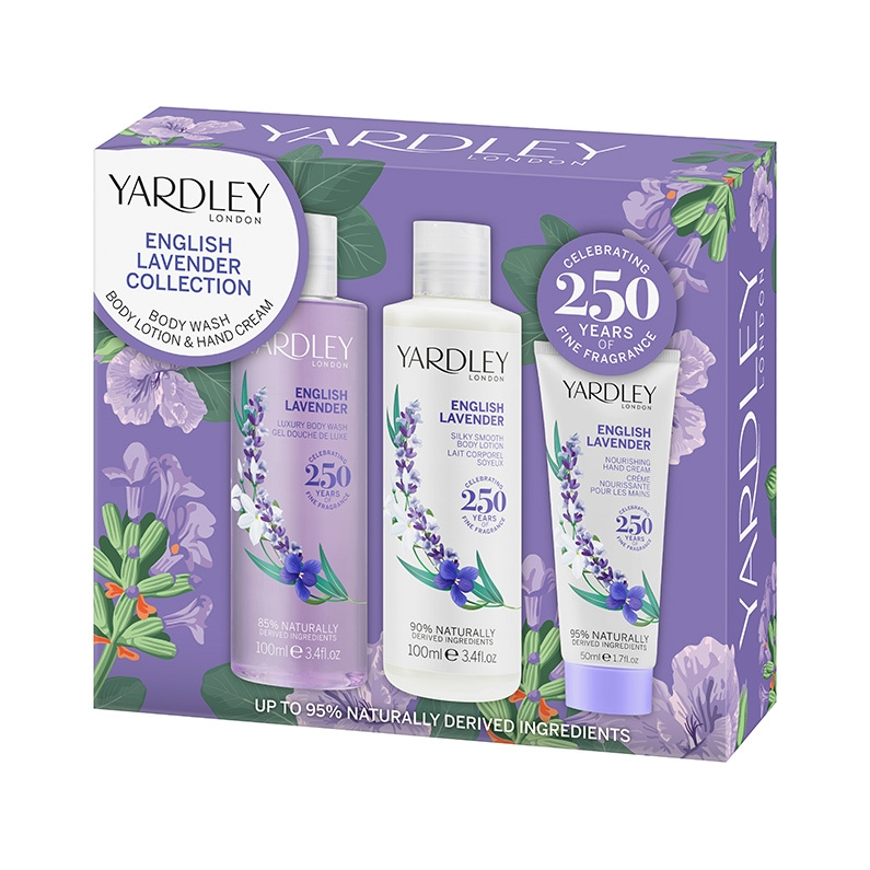 English Lavender Bath & Body Collection for Her