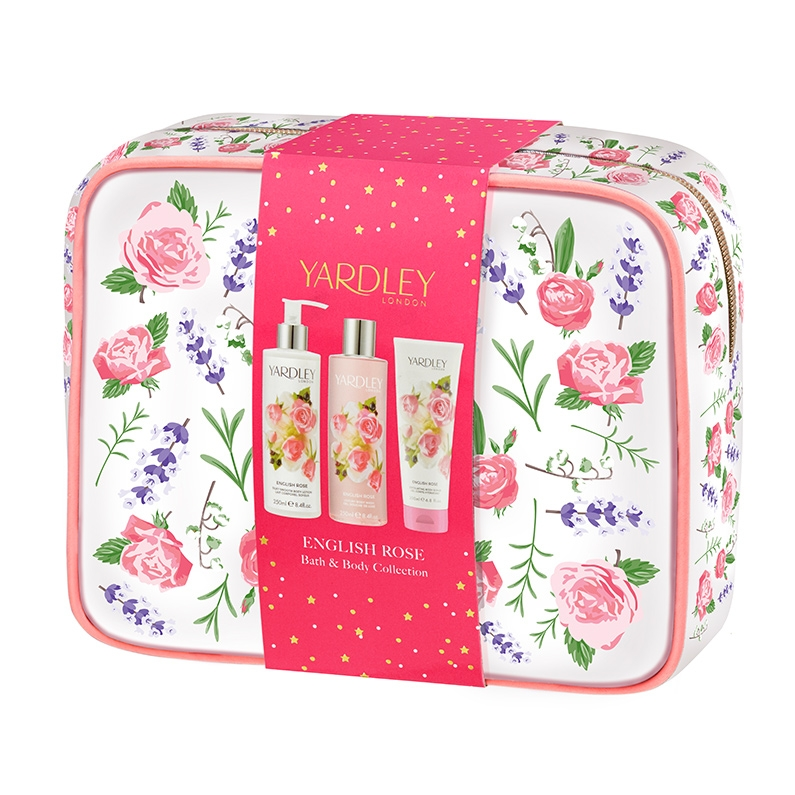 English Rose Bath and Body Gift Bag