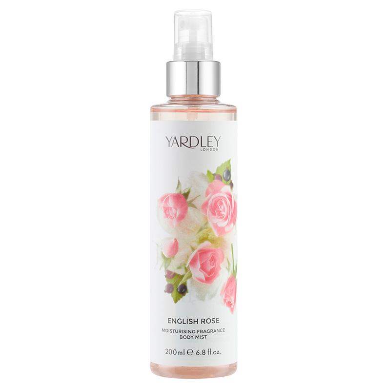 English Rose Moisturising Fragrance Body Mist