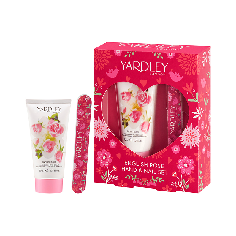 English Rose Hand & Nail Gift Set