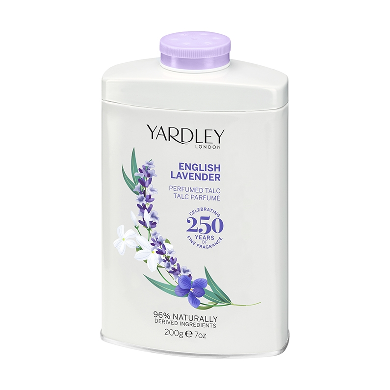 English Lavender Perfumed Talc