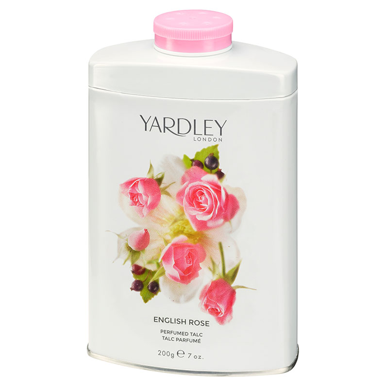 English Rose Perfumed Talc