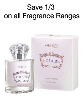 Save 1/3 off all fragrances