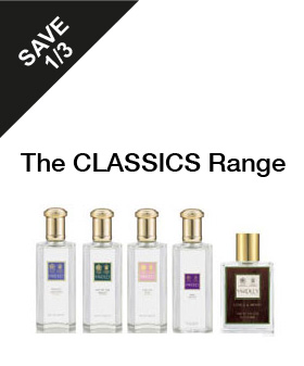 Save 1/3 off classic fragrances